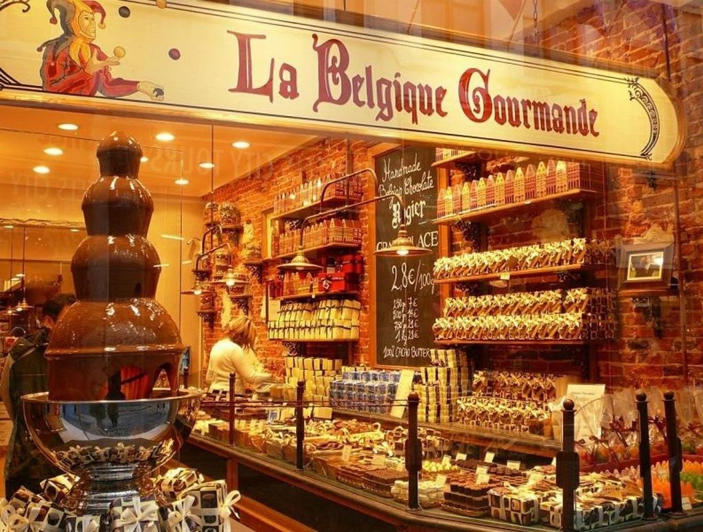 Бельгия и знаменитый шоколад