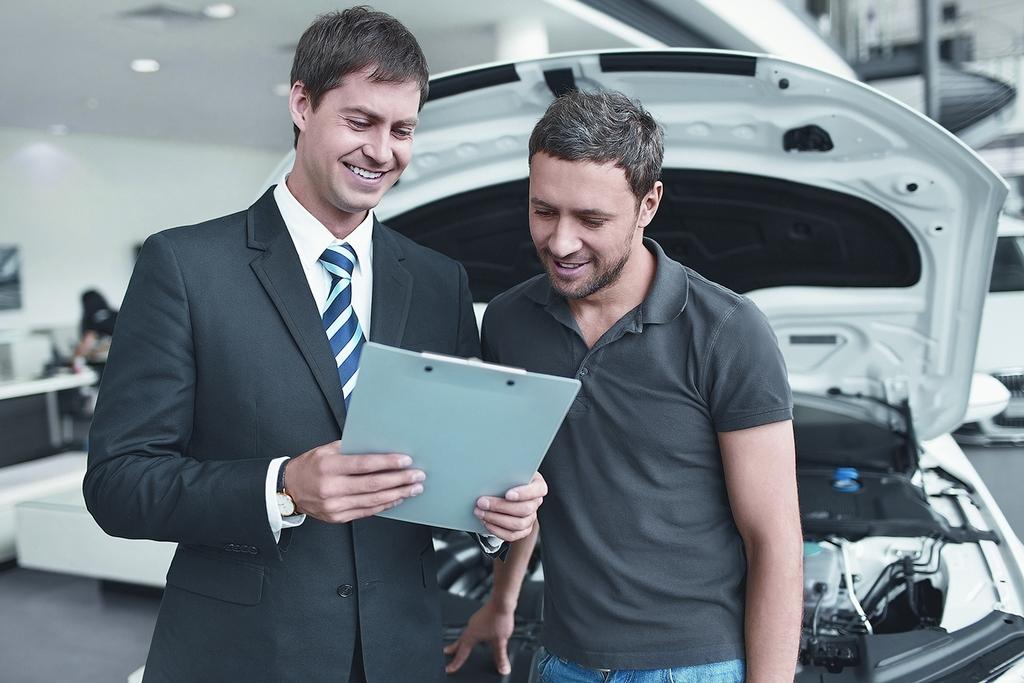 Документирование технического обслуживания вашего автомобиля