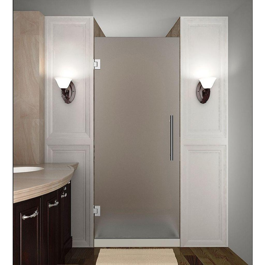 Матовые стеклянные двери — функциональные особенности