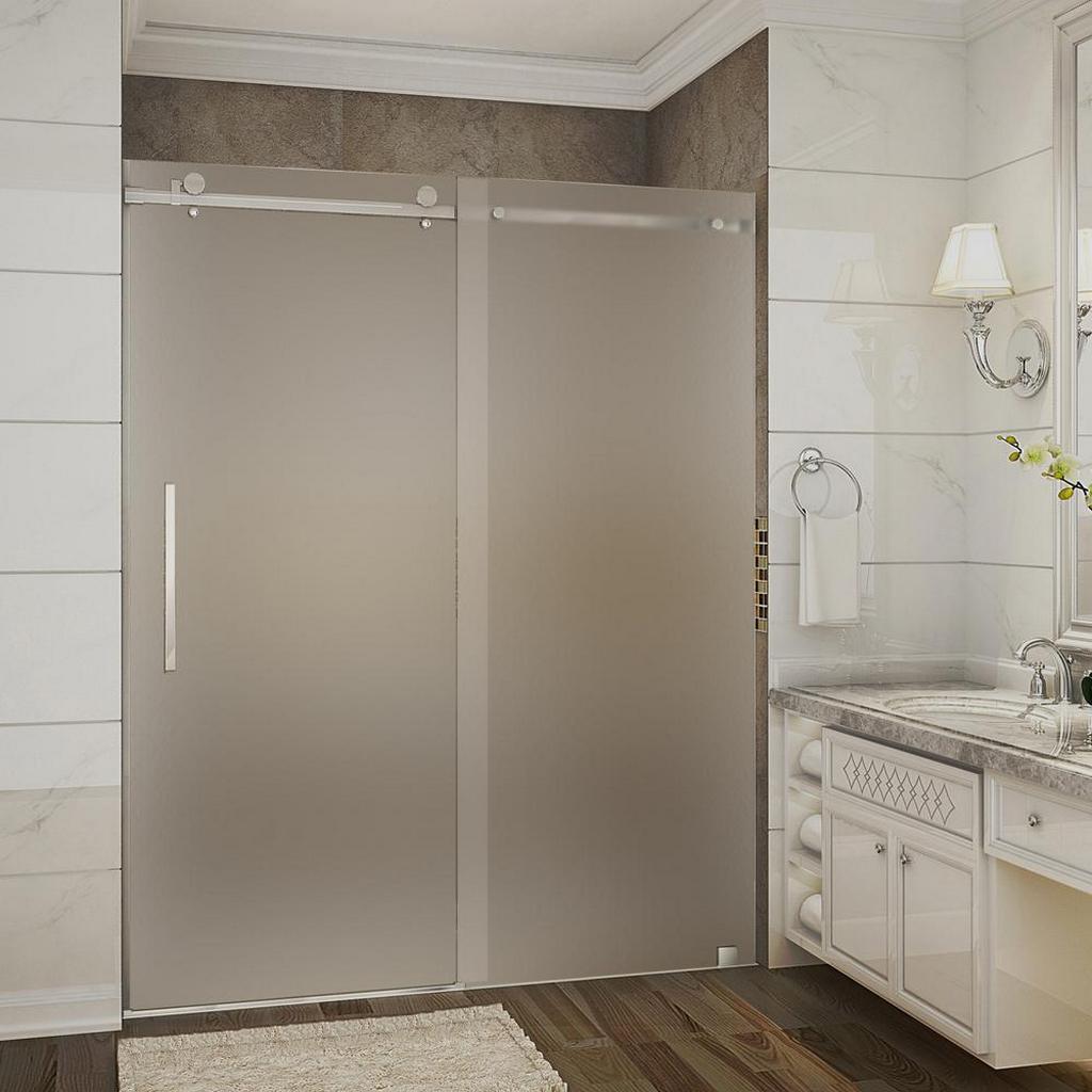 Области применения стеклянных матовых дверей