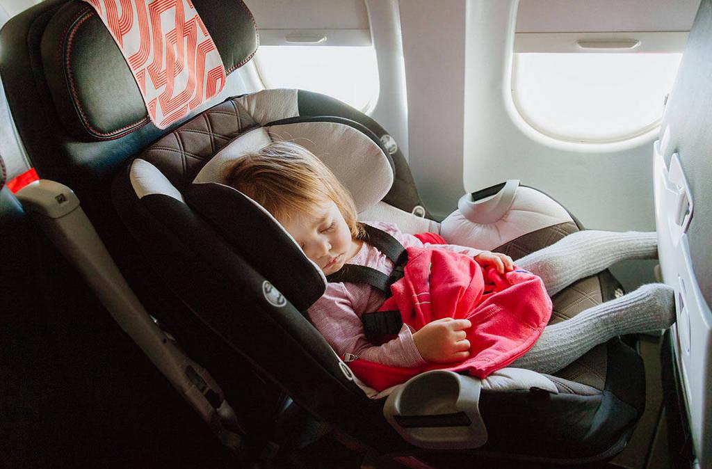 Путешествие с детьми на самолете