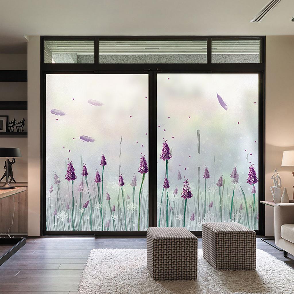 Расцветка матовых стеклянных дверей