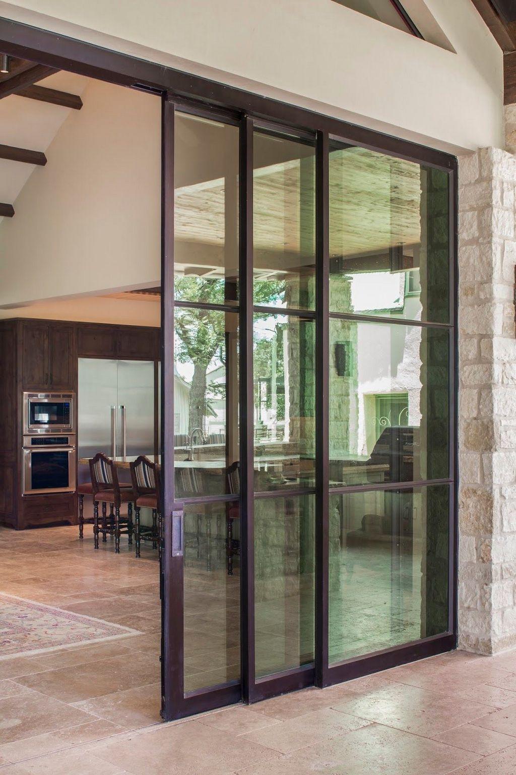 Разновидности раздвижных стеклянных дверей