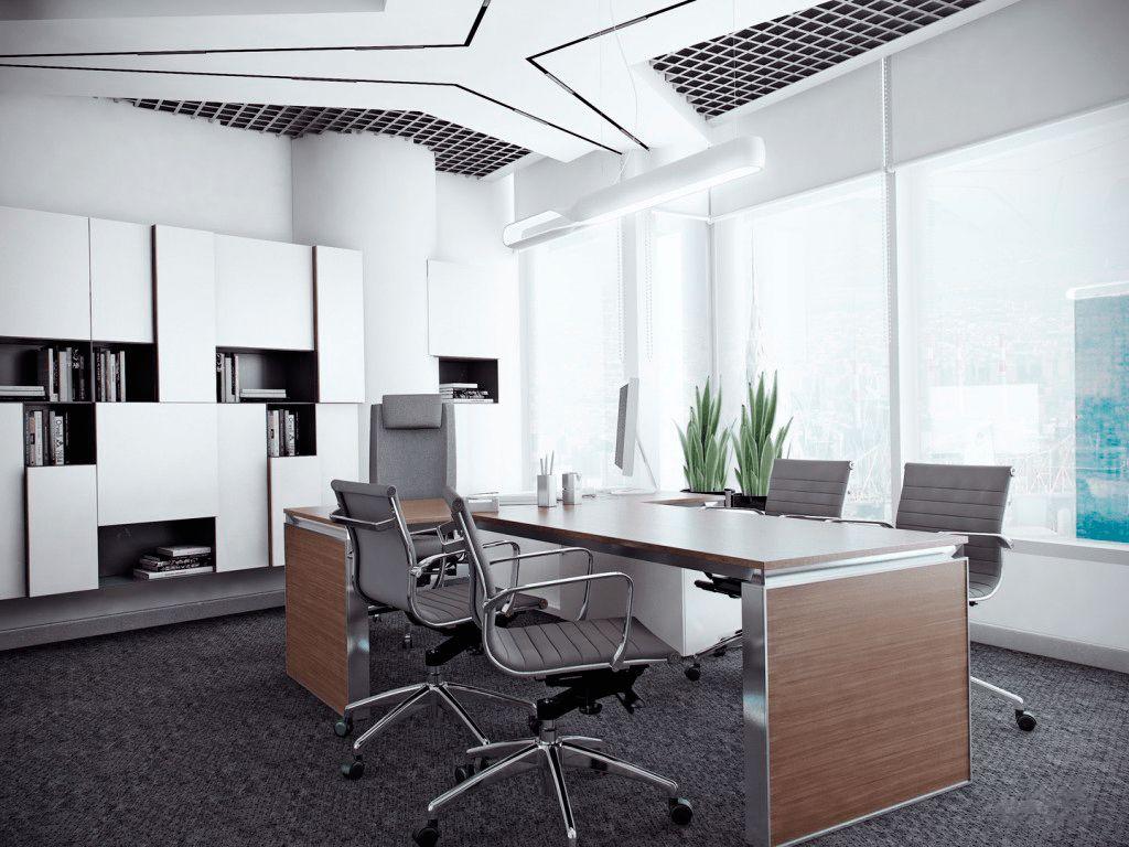 Сделайте интерьер своего офиса комфортным и впечатляющим