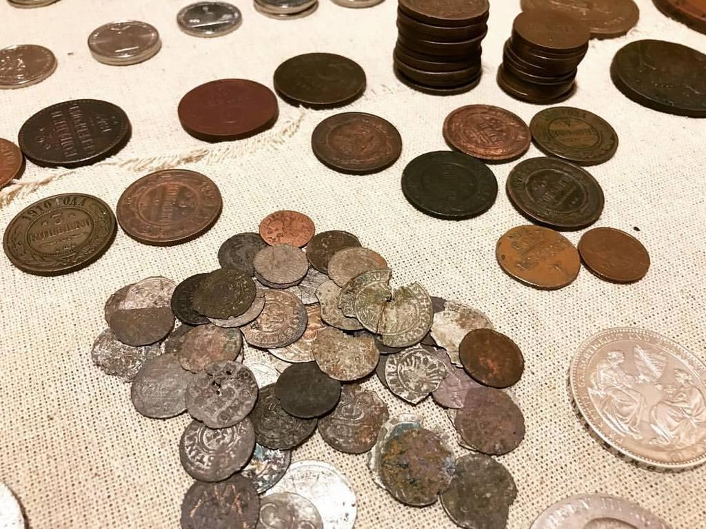 Варианты коллекционирования монет