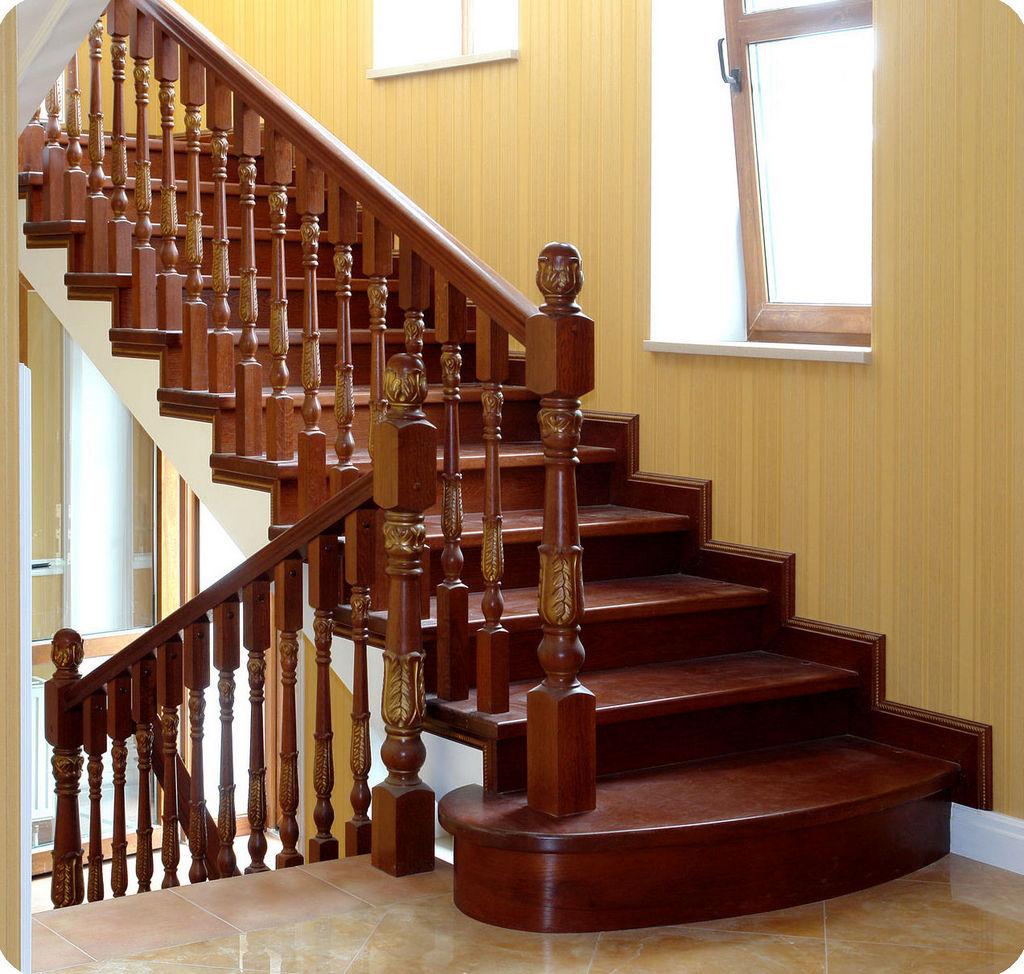 Маршевые деревянные лестницы