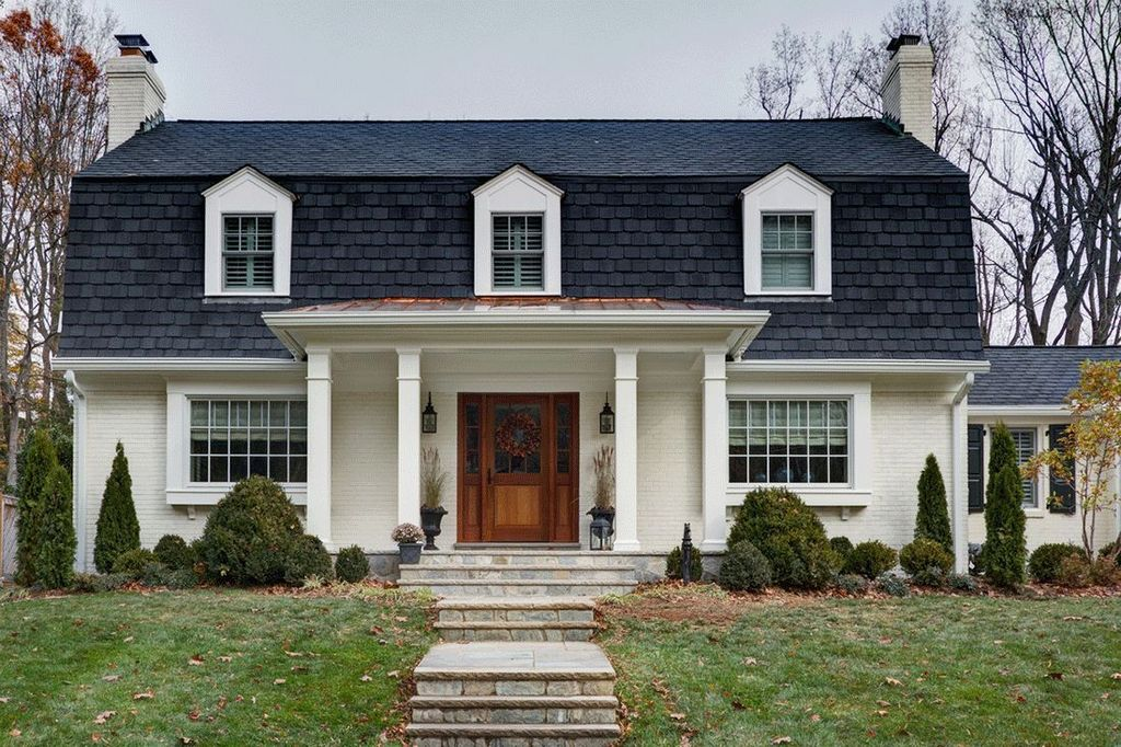 Особенности конструкции крыши мансардного типа