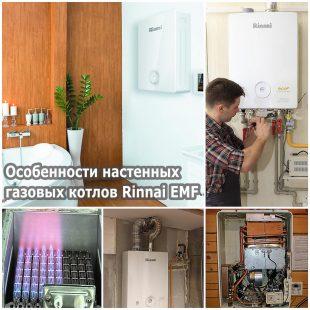 Особенности настенных газовых котлов Rinnai EMF