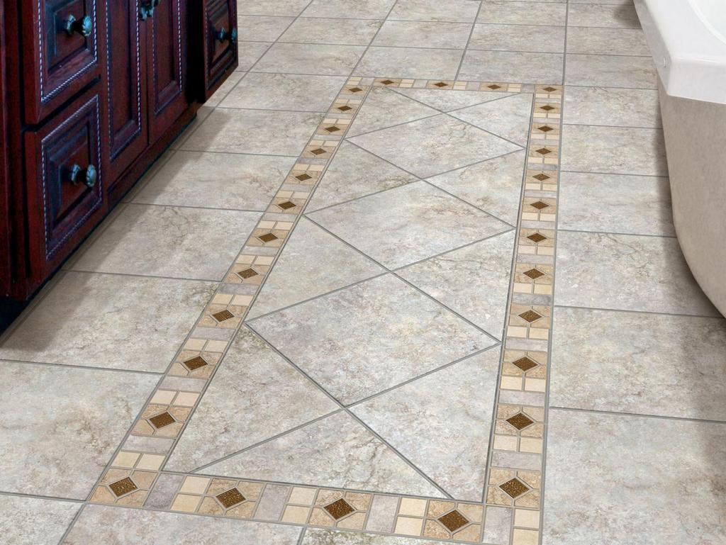 Особенности поверхности и размеры плитки