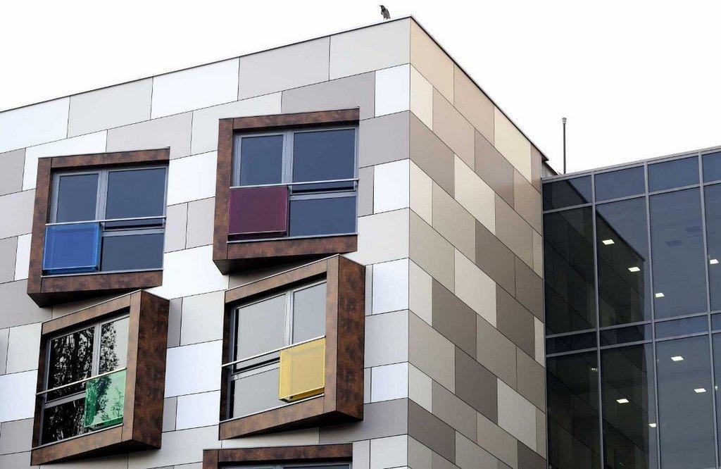 Плюсы навесных вентилируемых фасадов