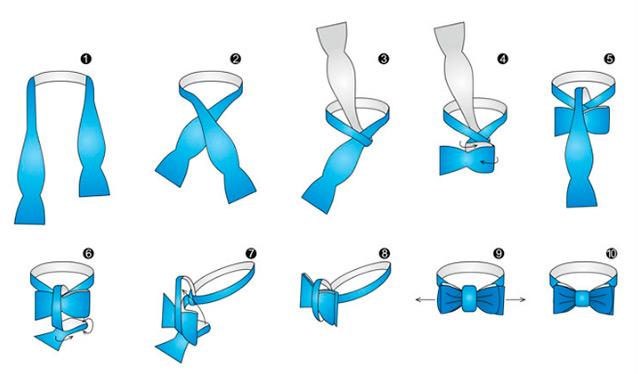Как-завязвать-галстук-бабочку
