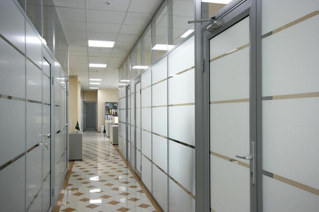 Классификация офисных перегородок