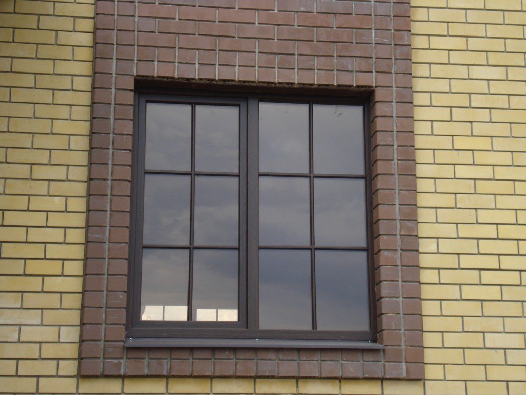 Окна пвх с горбыльком