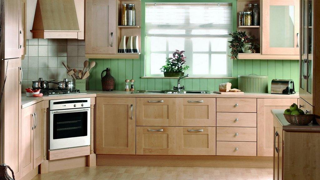 Определение функциональных зон кухни