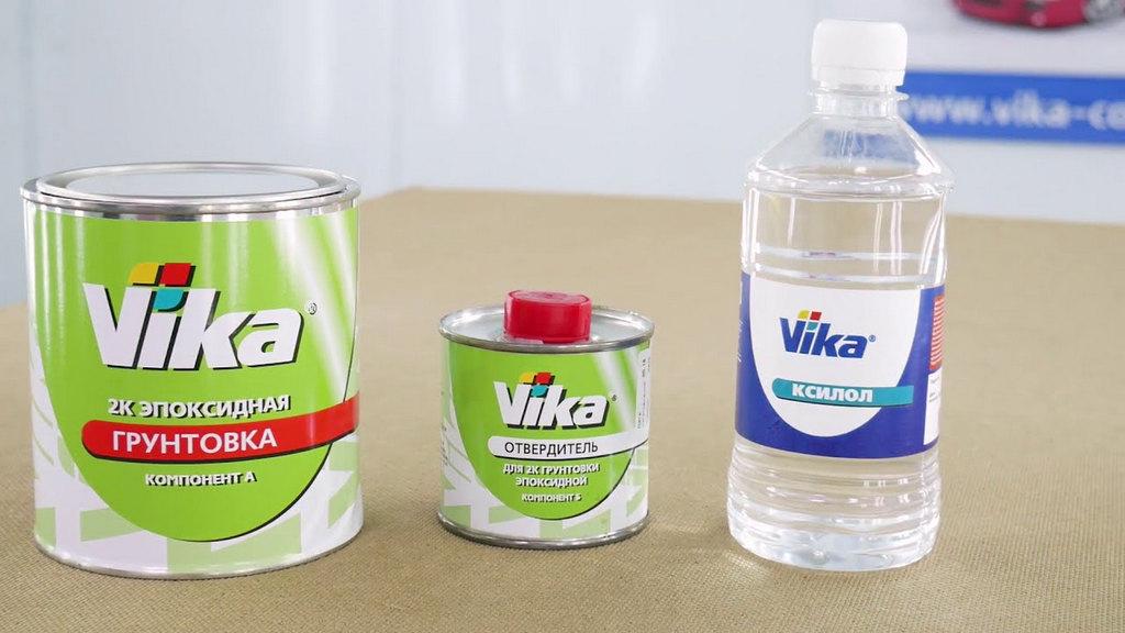 Разновидности грунтовок Вика