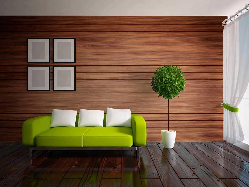 Реечные стеновые облицовочные панели