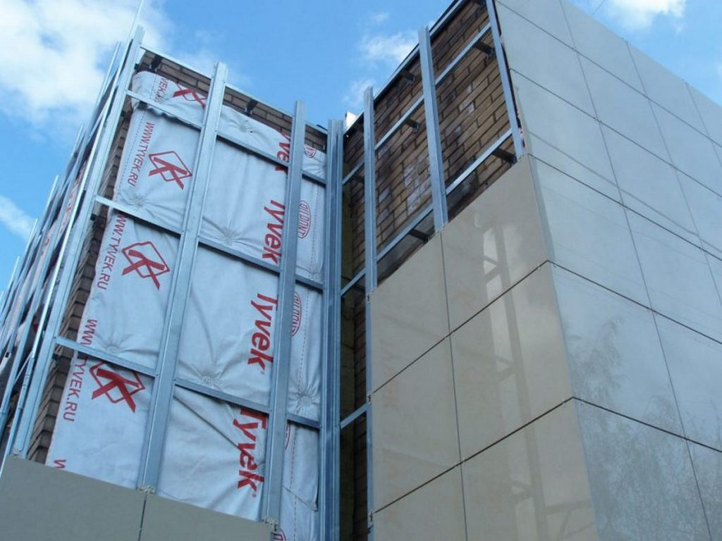 «Сухие» фасады