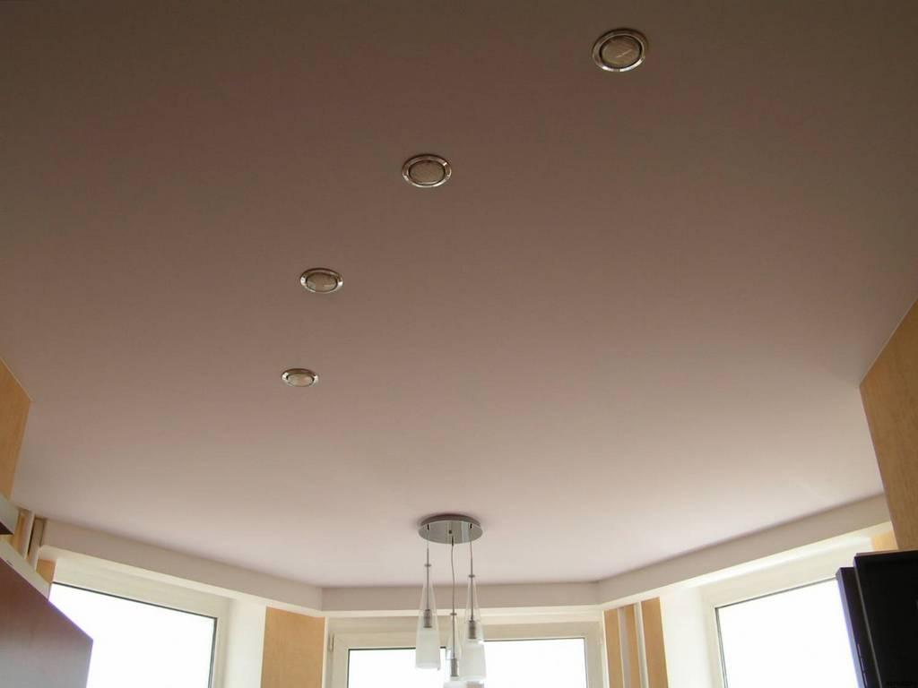 тканевые бесшовные натяжные потолки 2