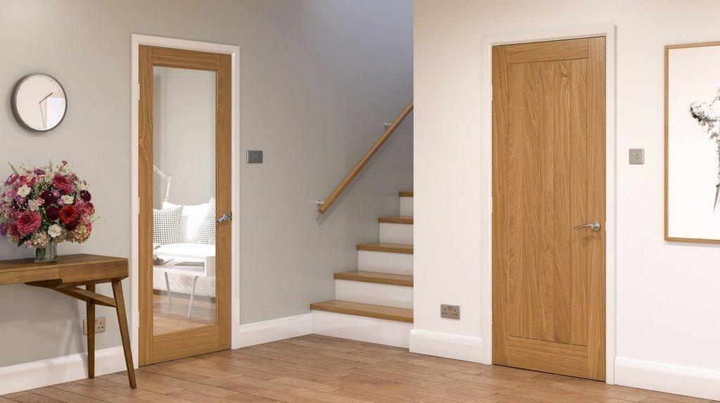 Двери со стеклом или без