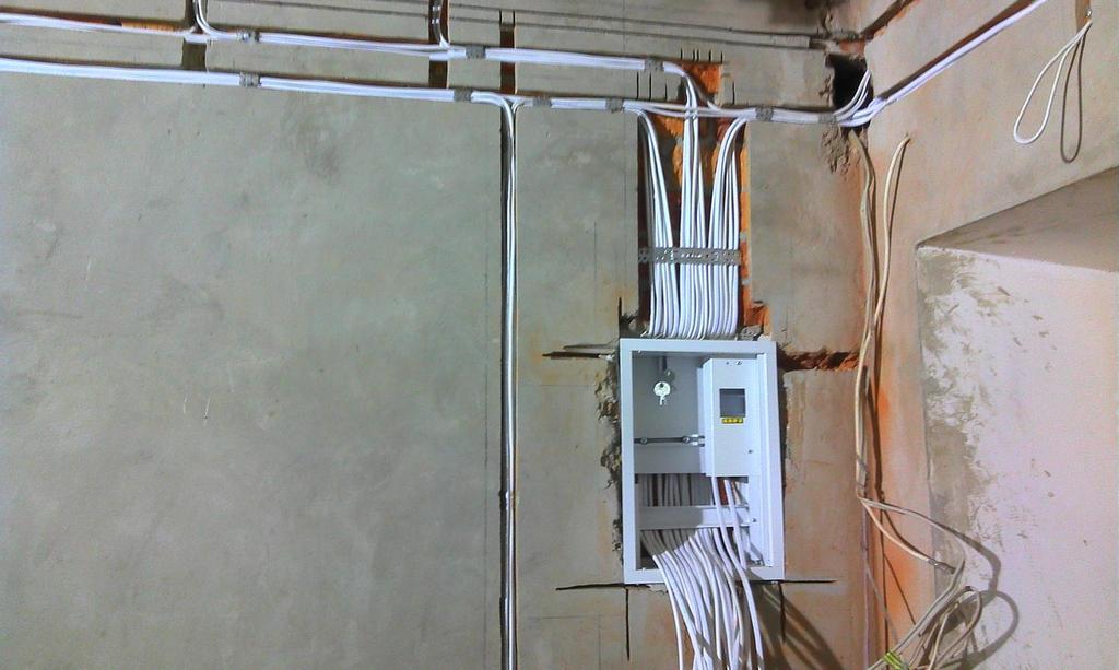 Этапы электромонтажных работ в доме