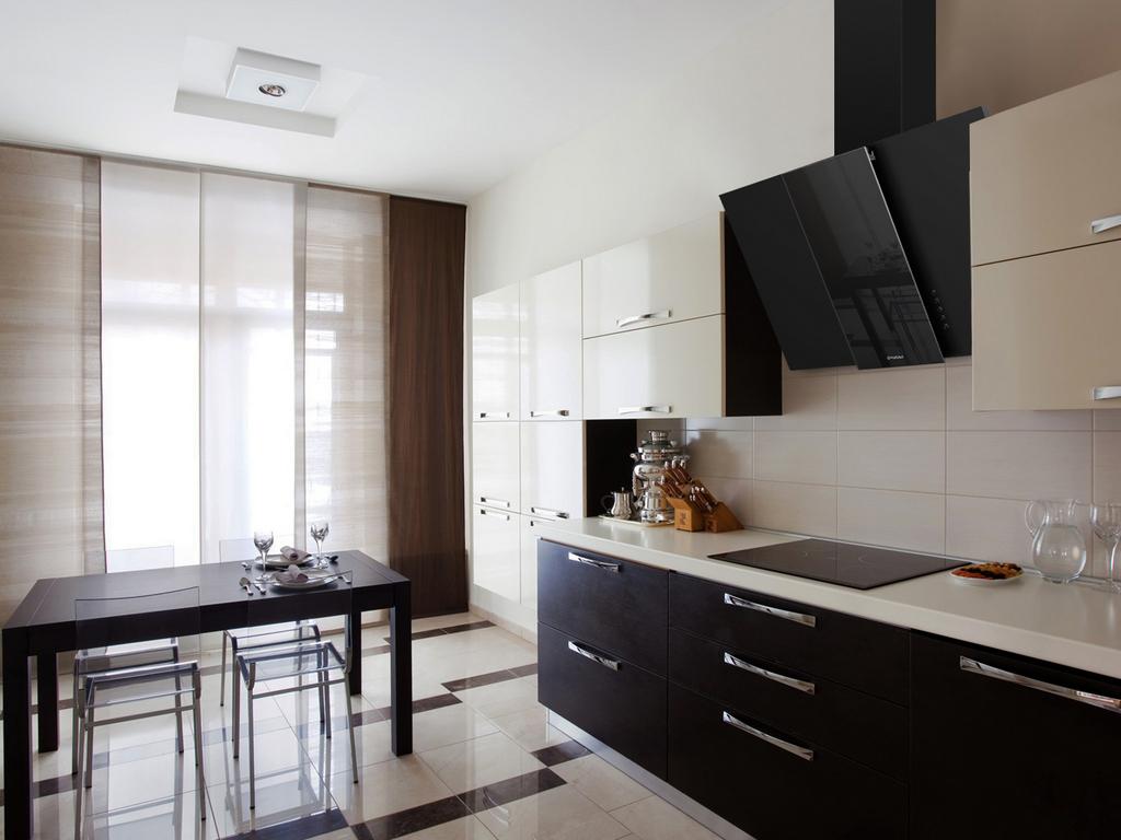 Выбор размера кухонной вытяжки
