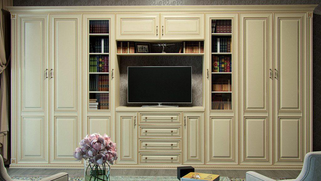 мебель в гостиную в классическом стиле 3