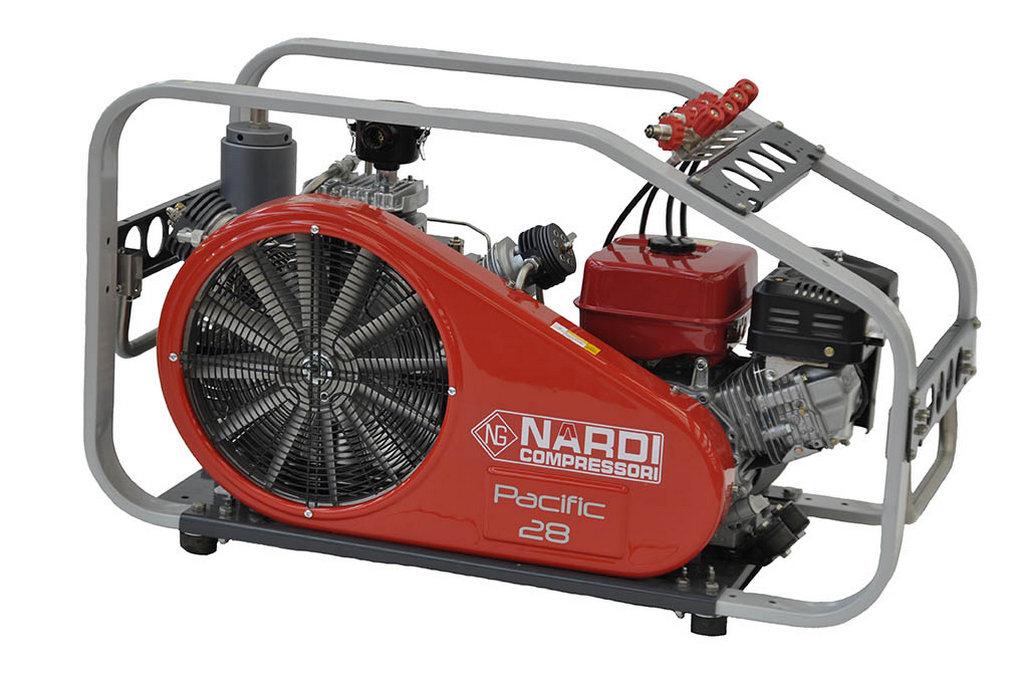 Бензиновый воздушный компрессор