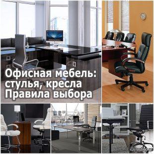 Офисная мебель стулья, кресла. Правила выбора