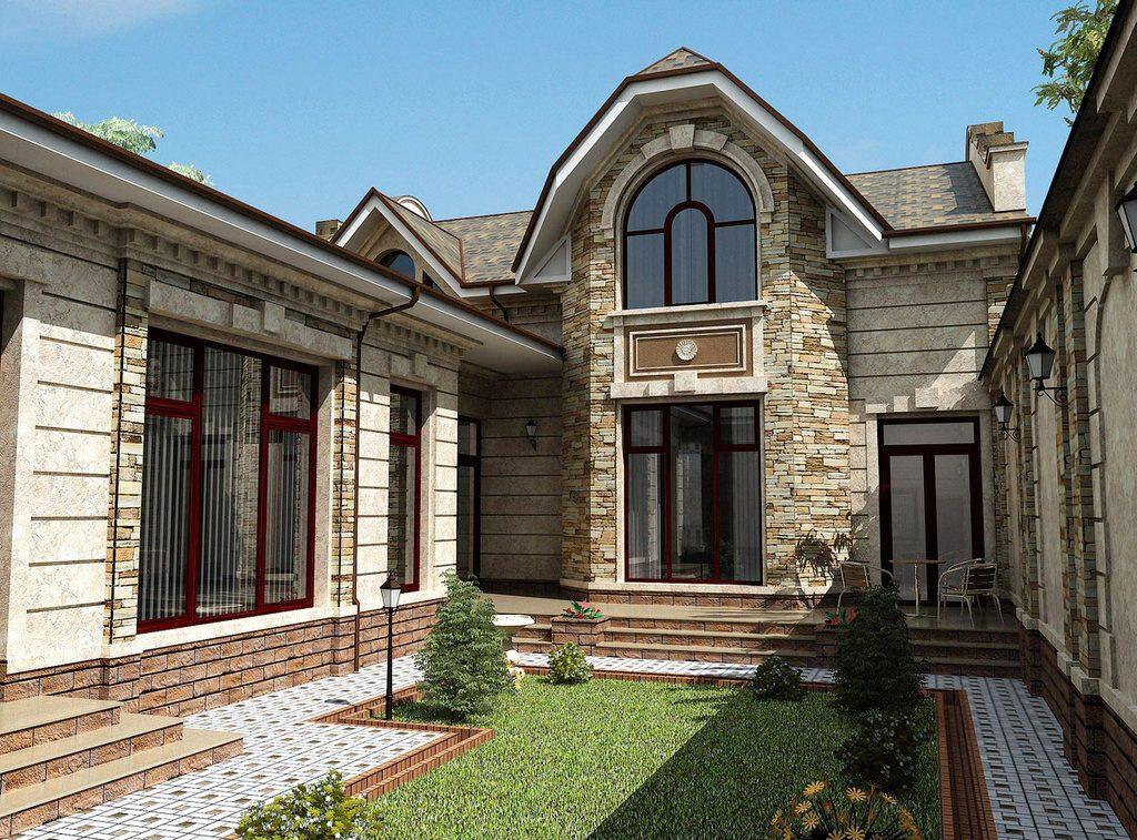 Преимущества облицовки фасада камнем