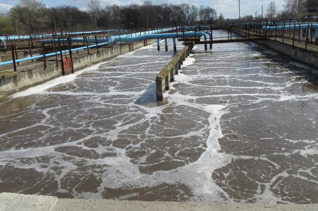 Для каких видов сточных вод используют очистные сооружения