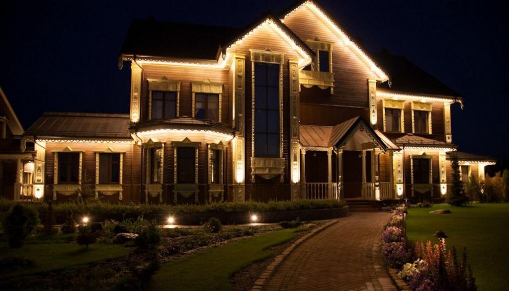 LED-освещение в дизайне