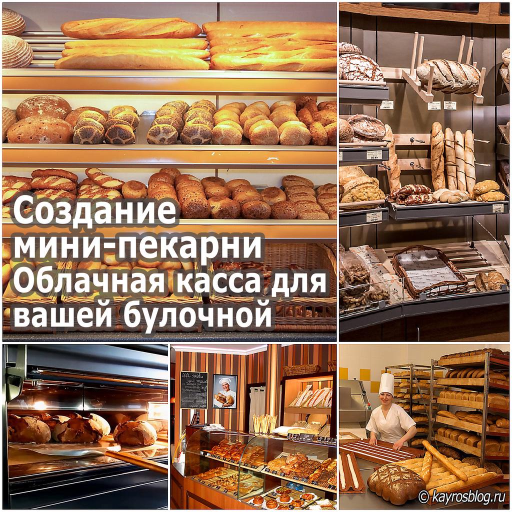 Создание мини-пекарни. Облачная касса для вашей булочной