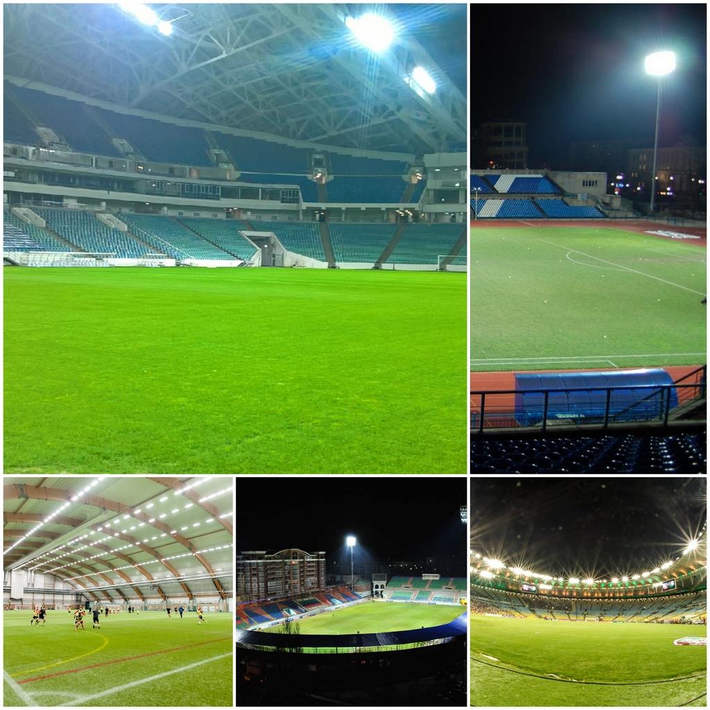 Светодиодные светильники для стадионов и спортивных площадок