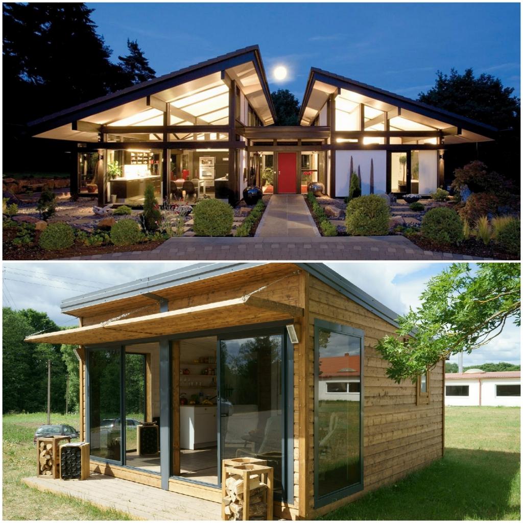 Что представляют собой современные каркасные дома?