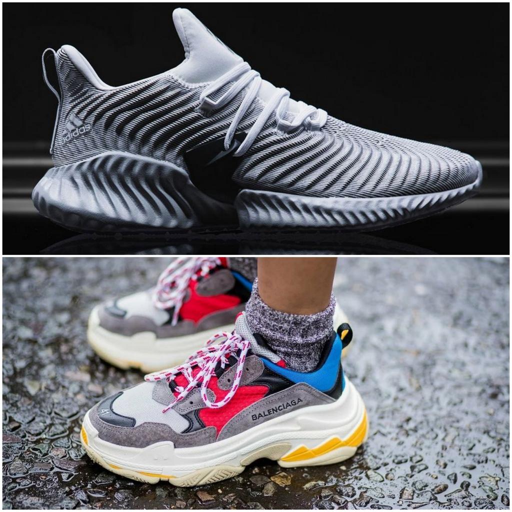 Футуристические кроссовки
