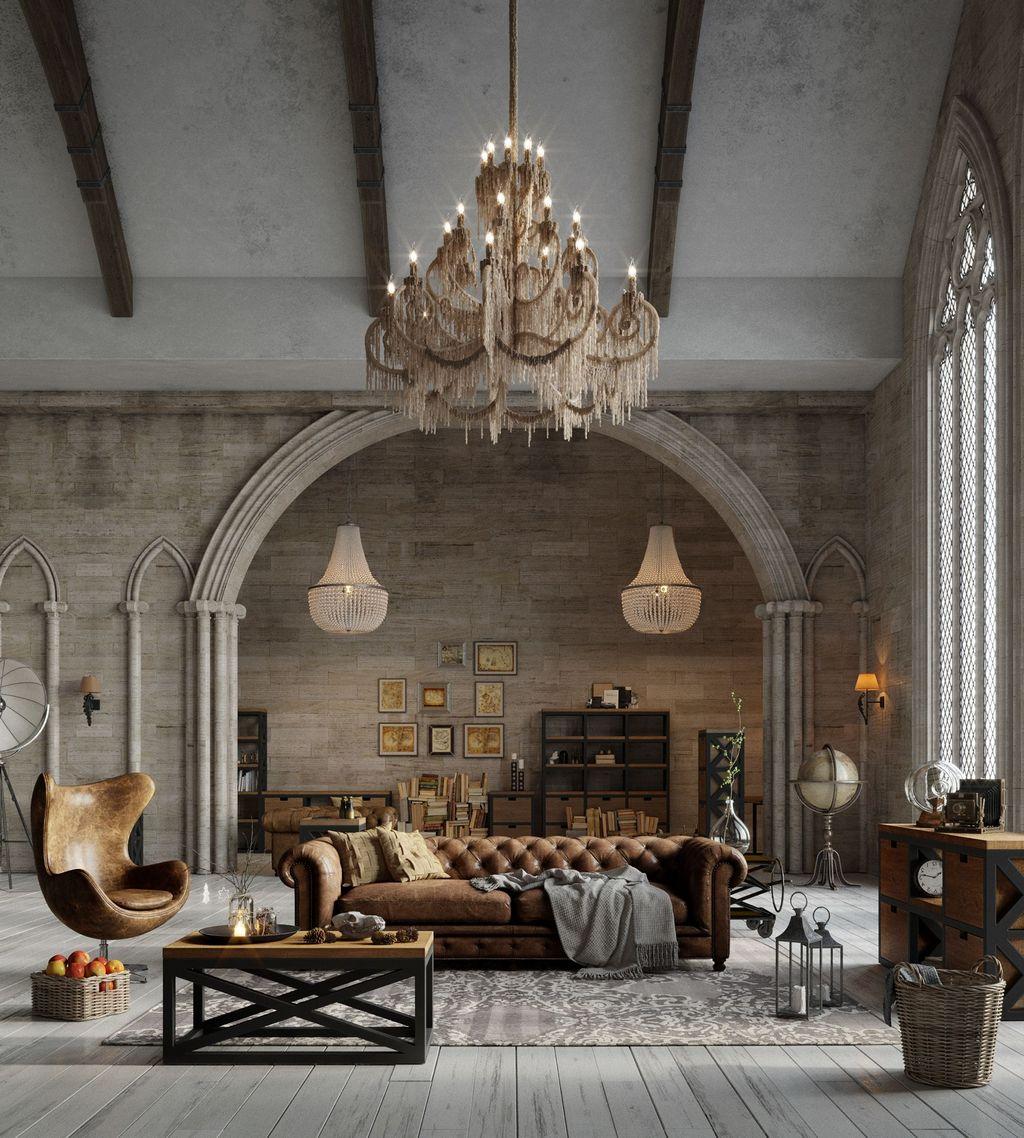 Как появилась мебель в стиле лофт?