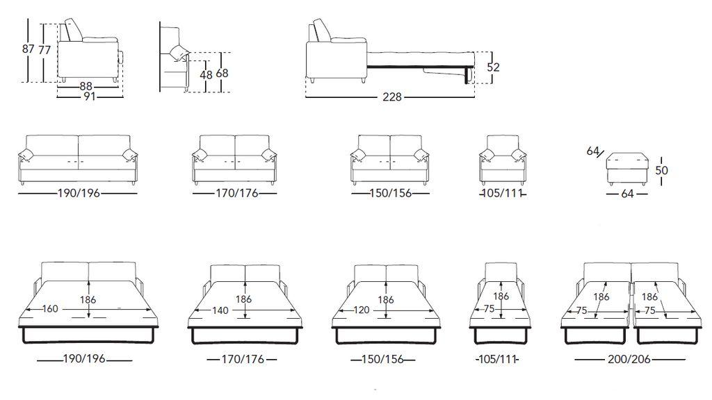 Размер кровати имеет значение