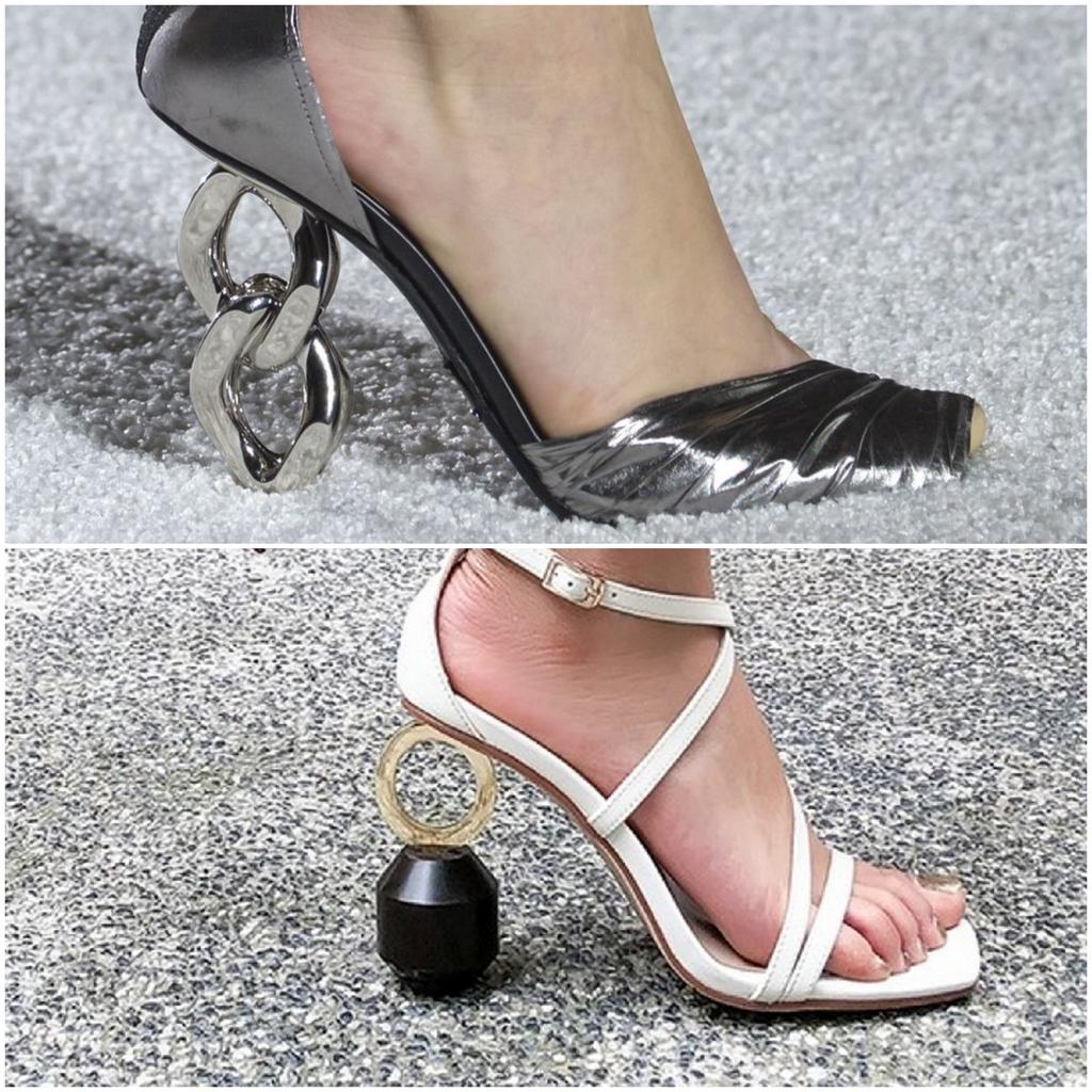 Скульптурные каблуки