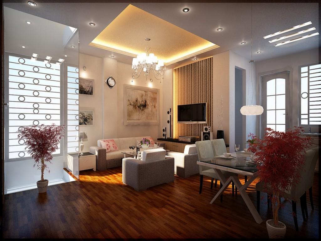 Современное освещение для гостиной - что стоит знать