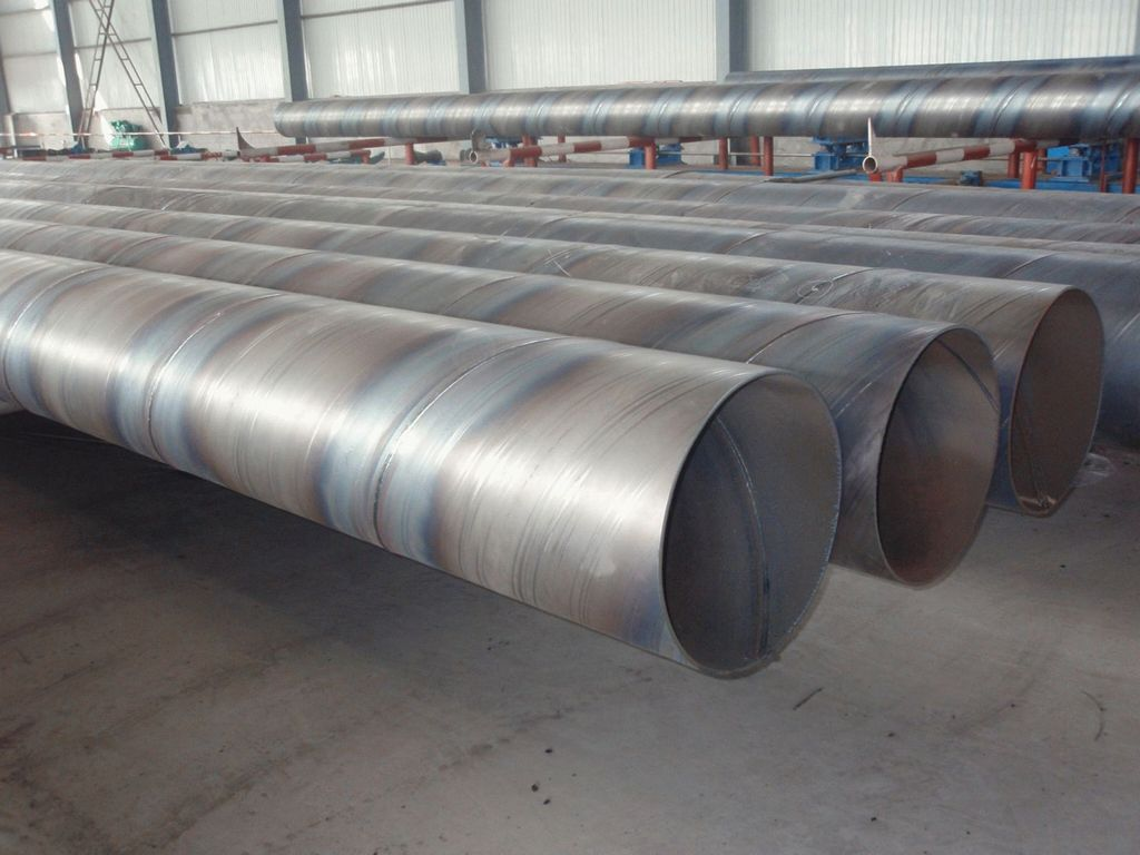 Спиралешовные стальные трубы