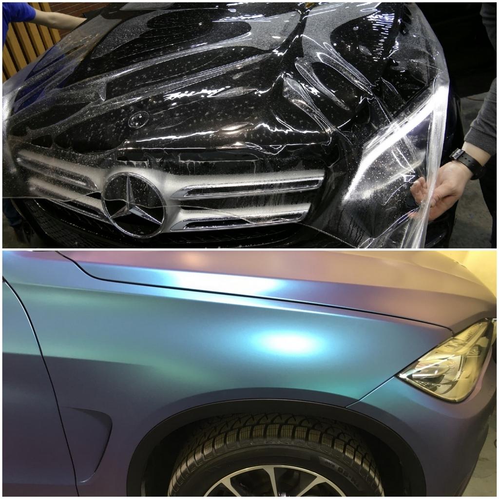 Защитные пленки на авто