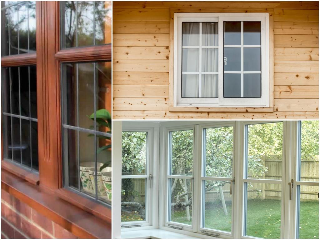 Деревянные окна стандартные