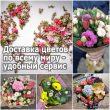 Доставка цветов по всему миру - удобный сервис