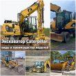 Экскаватор Caterpillar: виды и преимущества моделей