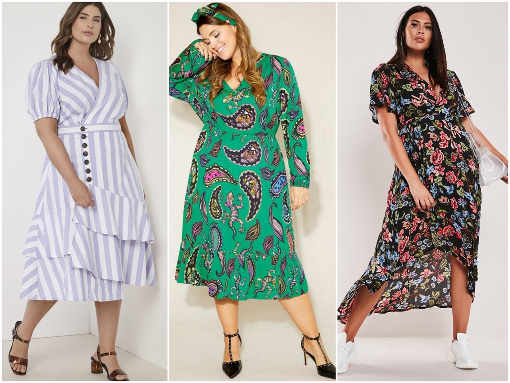 Как выбирать платья для пышек