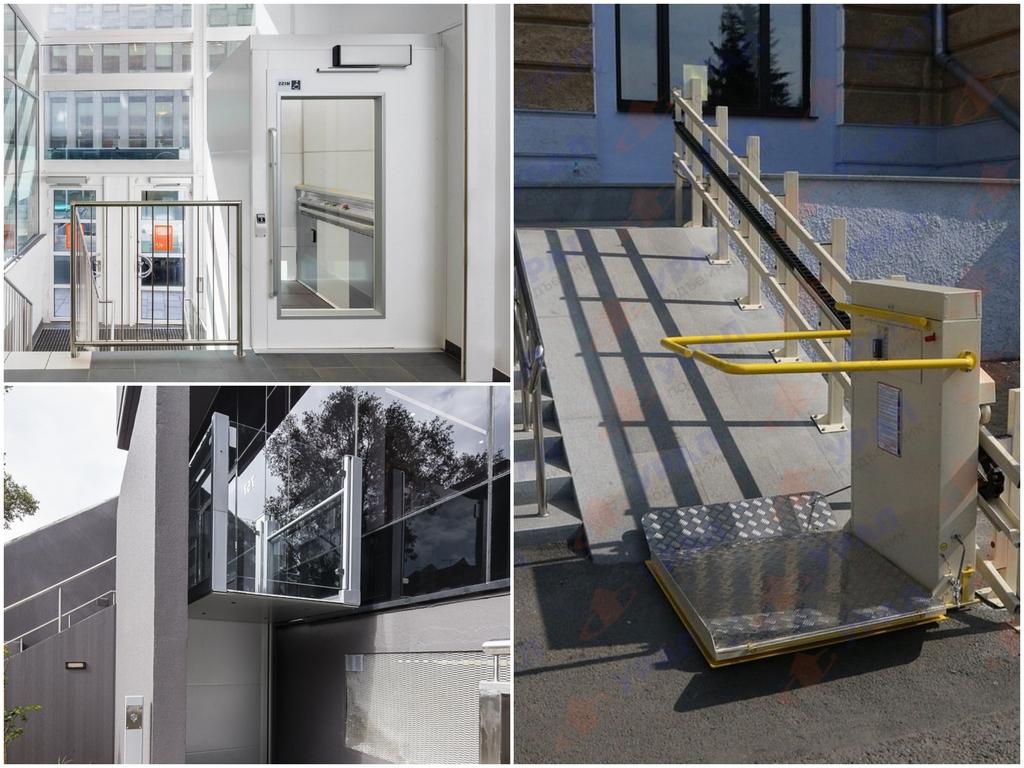 Какие бывают типы лифтов для инвалидов