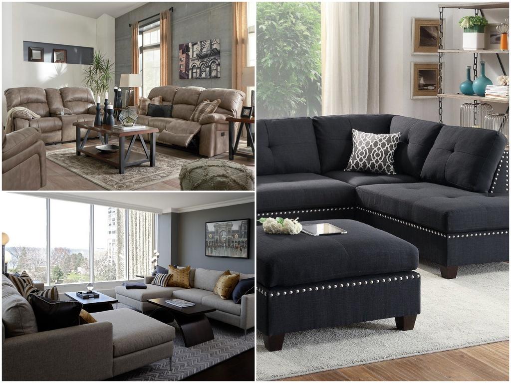 Небольшой красивый диван для маленькой гостиной