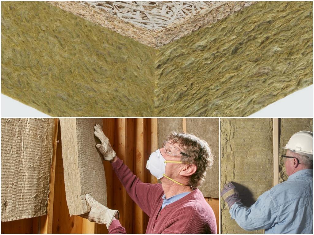Преимущества минераловатных теплоизоляционных материалов