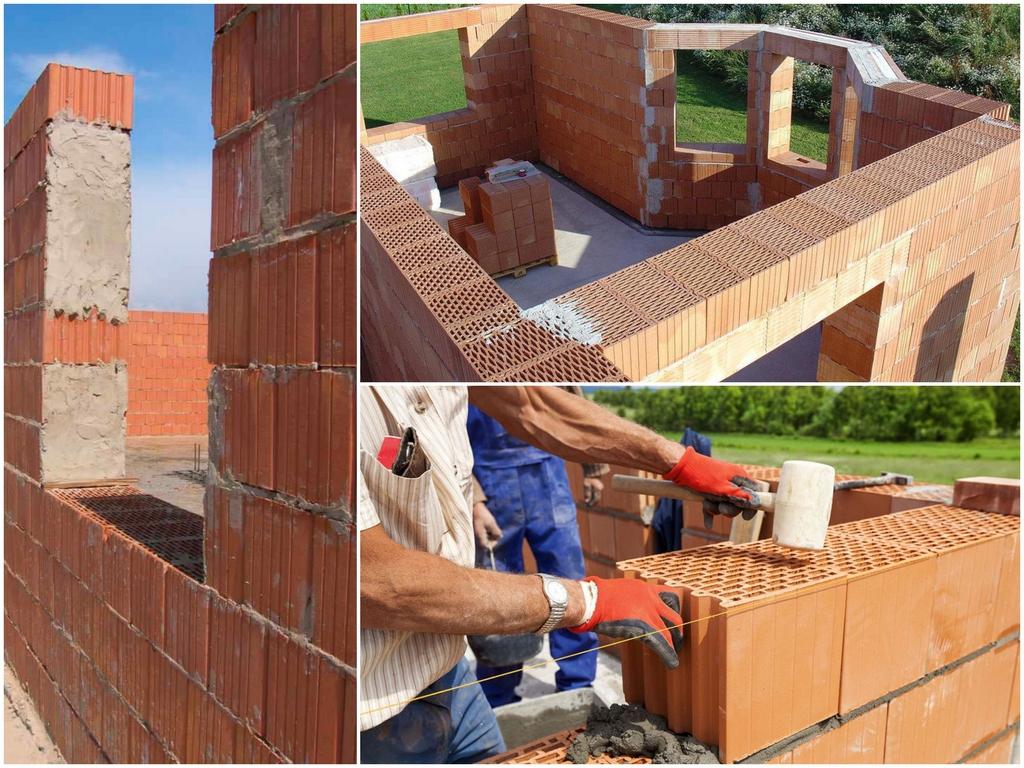 Преимущества строительства домов из керамических блоков