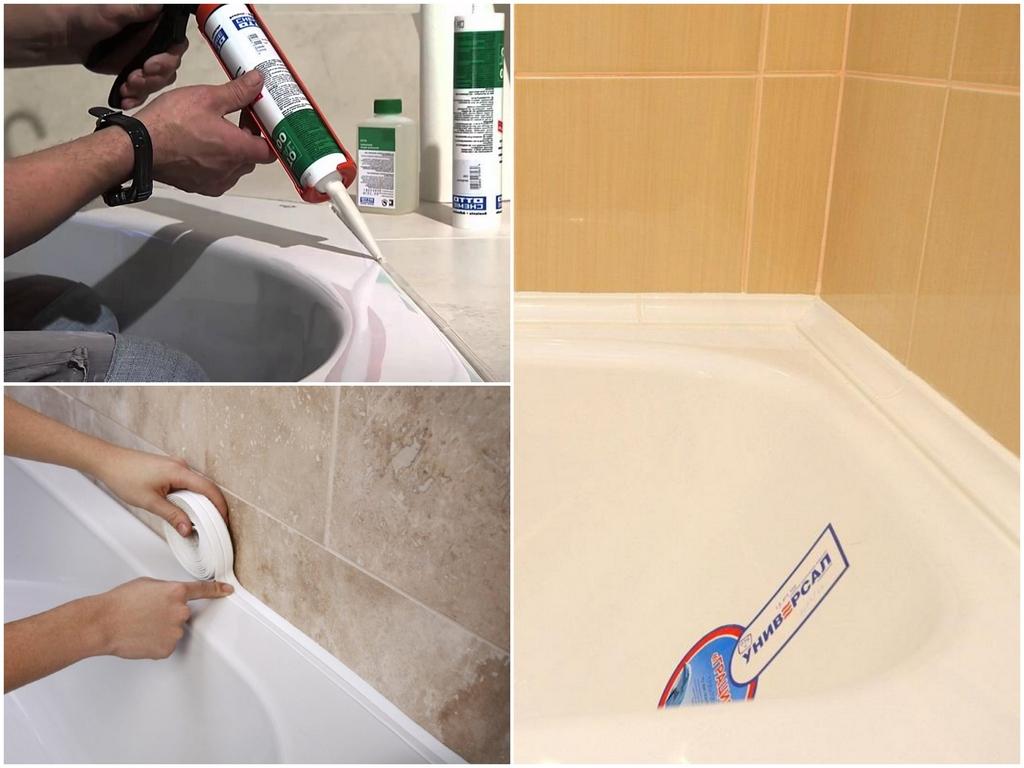 Выбираем самый подходящий вариант отделки стыка ванны и плитки